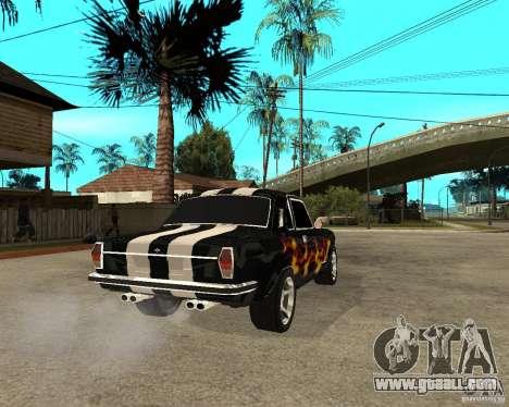 GAZ 2410 Camaro Edition for GTA San Andreas back left view