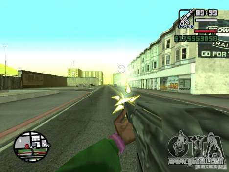 First person (First-Person mod) for GTA San Andreas eighth screenshot