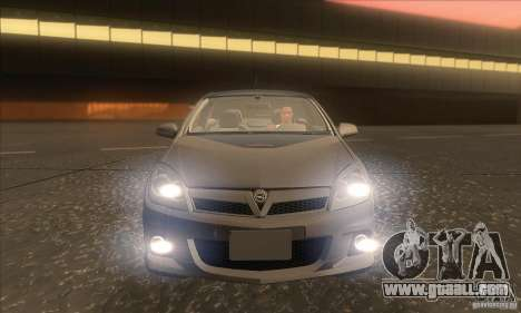 Opel Astra GTC DIM v1.0 for GTA San Andreas bottom view