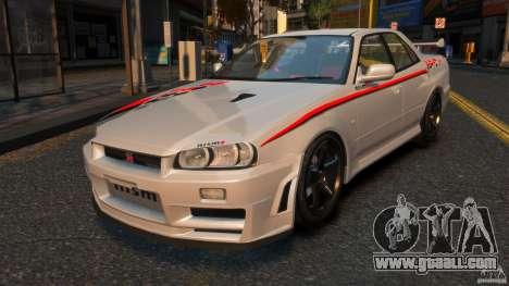 Nissan Skyline ER34 Nismo Z Tune for GTA 4