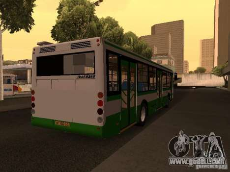 LIAZ 5292.20 for GTA San Andreas back left view