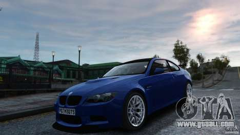 BMW M3 GTS Final for GTA 4 right view