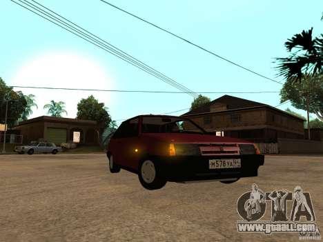 VAZ 2108 Drain for GTA San Andreas left view