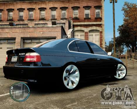 BMW 530I E39 [Final] for GTA 4 back left view