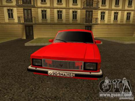GAZ 3102 Volga for GTA San Andreas right view
