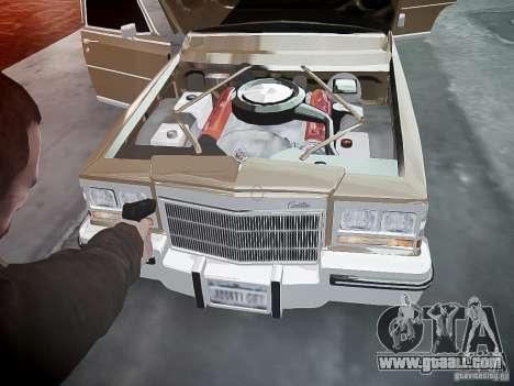 Cadillac Fleetwood 1985 for GTA 4 interior