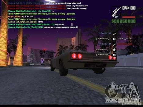 Starry sky v2.0 (for SA: MP) for GTA San Andreas sixth screenshot