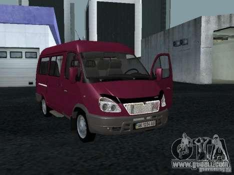 GAZ 2217 Sobol for GTA San Andreas