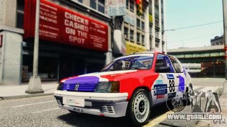 Peugeot 205 Rally for GTA 4
