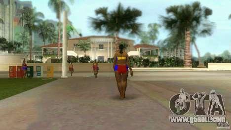 Big Lady Cop Mod 2 for GTA Vice City second screenshot