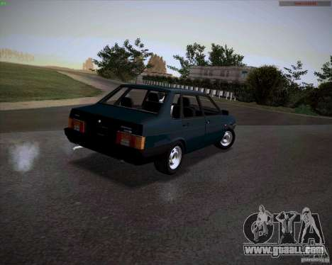 VAZ 21099 Drain for GTA San Andreas left view
