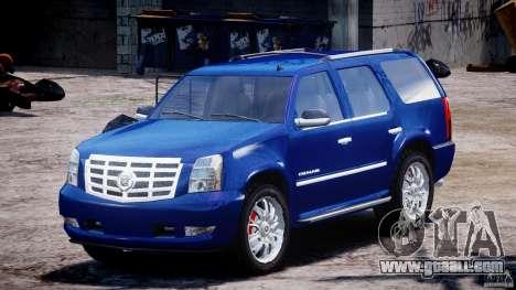 Cadillac Escalade [Beta] for GTA 4