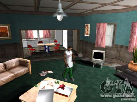 Screw/unscrew the silencer for GTA San Andreas third screenshot