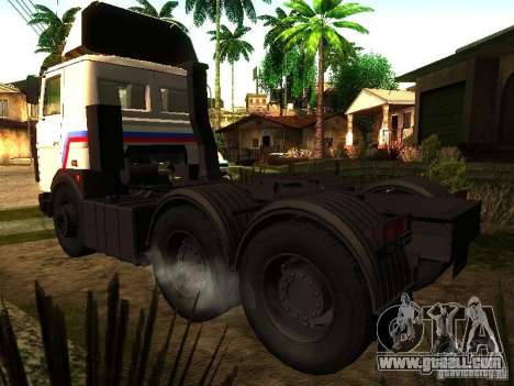 MAZ 642205 v1.0 for GTA San Andreas left view