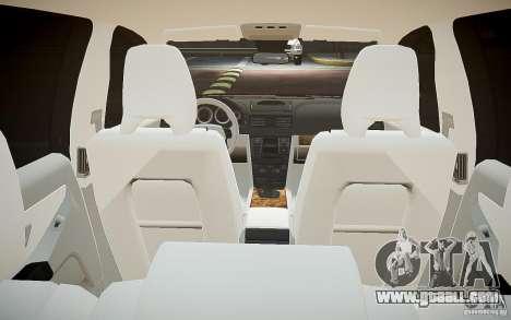 Volvo XC 90 for GTA 4 bottom view
