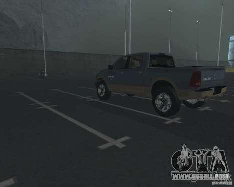 Dodge Ram Hemi for GTA San Andreas back left view