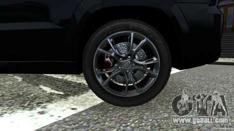 Jeep Grand Cherokee STR8 2012 for GTA 4 back view