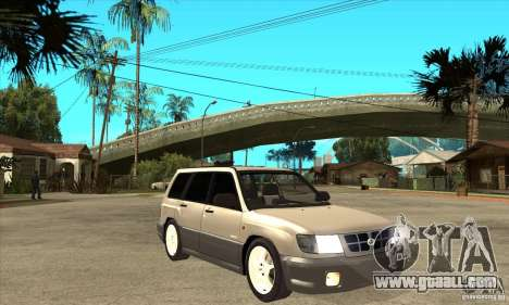 Subaru Forester 1997 year for GTA San Andreas back view