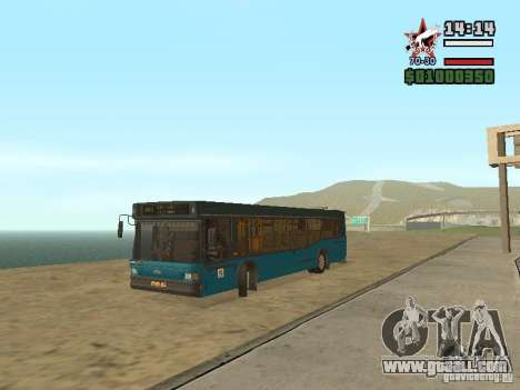 Maz-103S for GTA San Andreas back left view