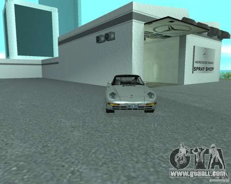 PORSHE 959 for GTA San Andreas right view