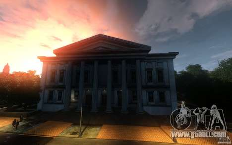 Menu and boot screens of Liberty City in GTA 4 for GTA San Andreas sixth screenshot