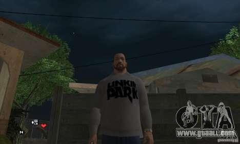 Sweater Linkin Park v0.1 beta for GTA San Andreas