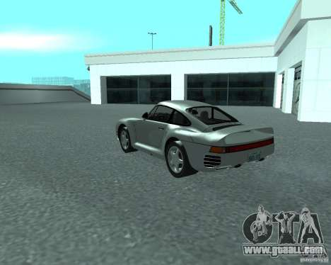 PORSHE 959 for GTA San Andreas left view