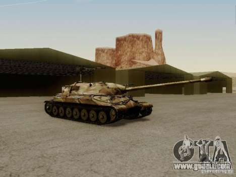 The is-7 for GTA San Andreas