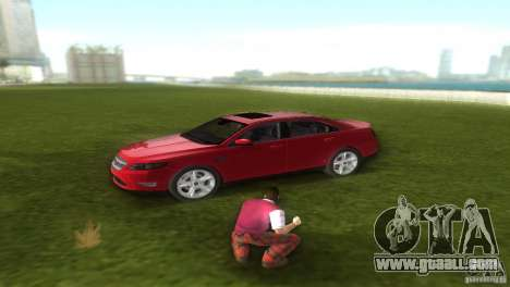 Ford Taurus for GTA Vice City back left view