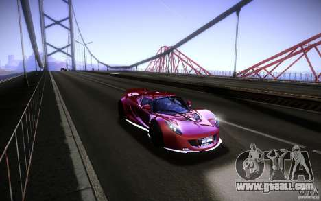 Hennessey Venom GT 2010 V1.0 for GTA San Andreas right view