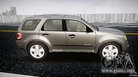 Ford Escape 2011 Hybrid Civilian Version v1.0 for GTA 4 side view