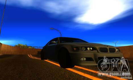 BMW M3 E46 TUNEABLE for GTA San Andreas right view