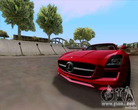Mercedes-Benz SLS AMG V12 TT Black Revel for GTA San Andreas left view