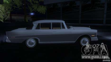 Mercedes-Benz 300SE US for GTA San Andreas right view