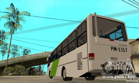 CAIO Alpha Mercedes-Benz OH-1420/51 Troncal 4 for GTA San Andreas back left view