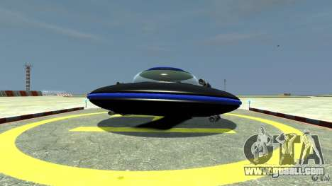 UFO neon ufo blue for GTA 4
