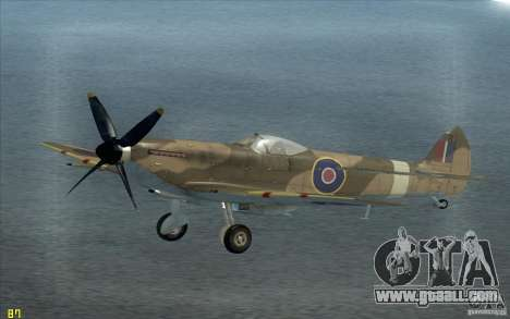 Spitfire for GTA San Andreas