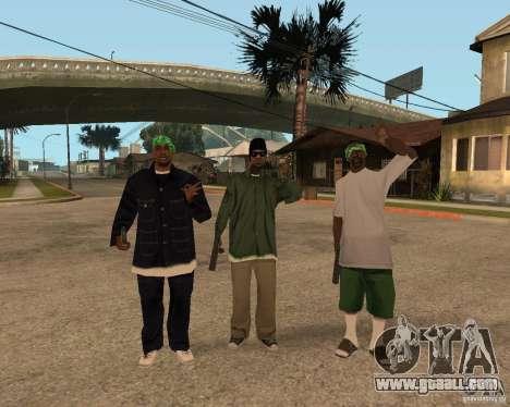 Ballasy's Grove for GTA San Andreas third screenshot