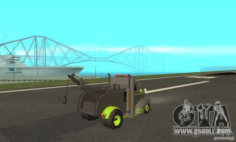 Chevy Towtruck COE 1946 for GTA San Andreas back left view