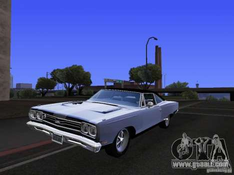 Plymouth GTX 1969 for GTA San Andreas side view