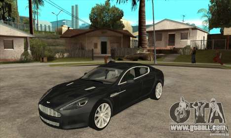 Aston Martin Rapide 2010 for GTA San Andreas