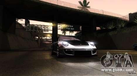 Porsche 911 GT2 RS 2012 for GTA San Andreas upper view