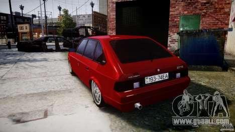 AZLK Moskvich 2141 STR-v 2.1 for GTA 4 back left view