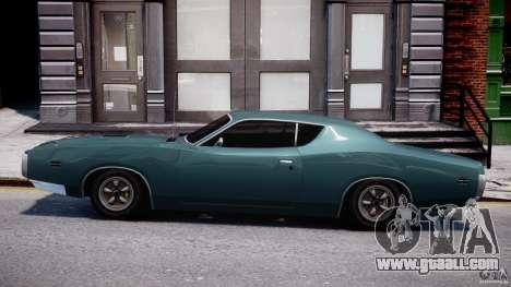 Dodge Charger RT 1971 v1.0 for GTA 4 inner view