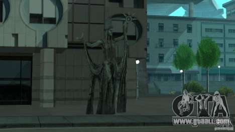 Statue of Skyrim for GTA San Andreas