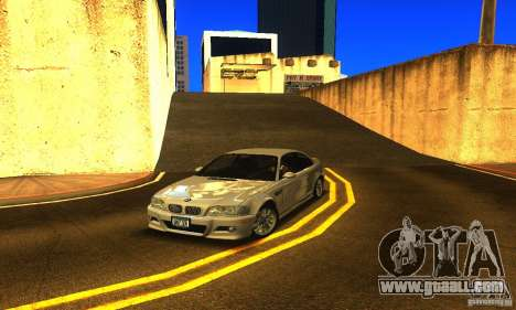 BMW M3 Tuneable for GTA San Andreas