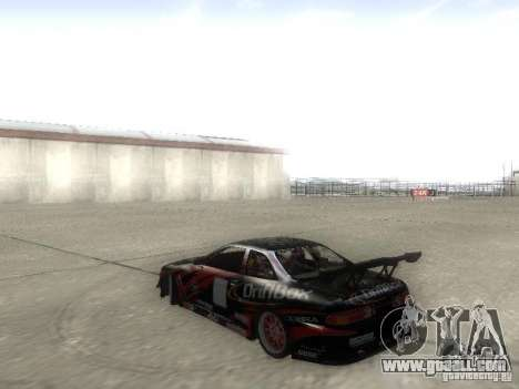 Toyota Soarer JZZ30 for GTA San Andreas left view