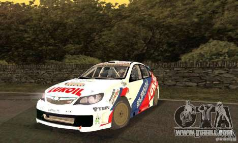 Subaru Impreza WRX STi Russia Rally for GTA San Andreas