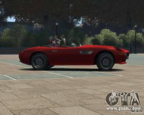 BMW Z8 for GTA 4 right view