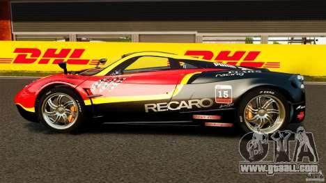 Pagani Huayra 2011 [EPM] for GTA 4 left view